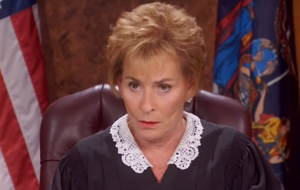 Judge Judy suffers no fools