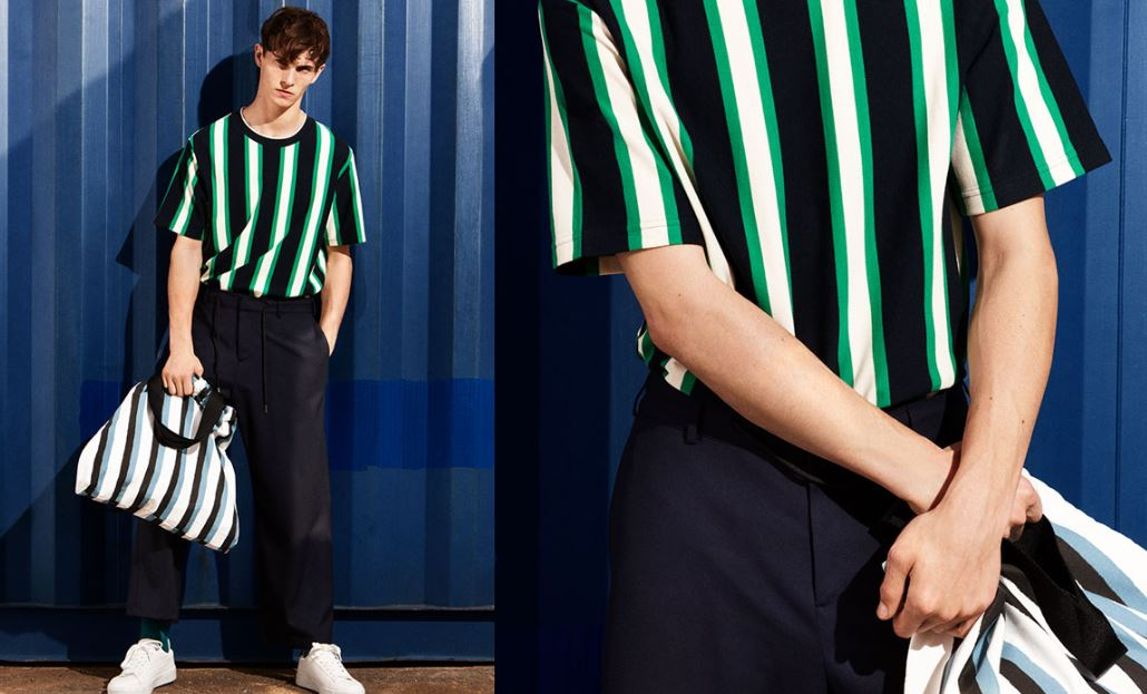 4537e83d From their sport joggers to side-striped trousers, we're happy to see some  brighter and bolder colors from Zara.