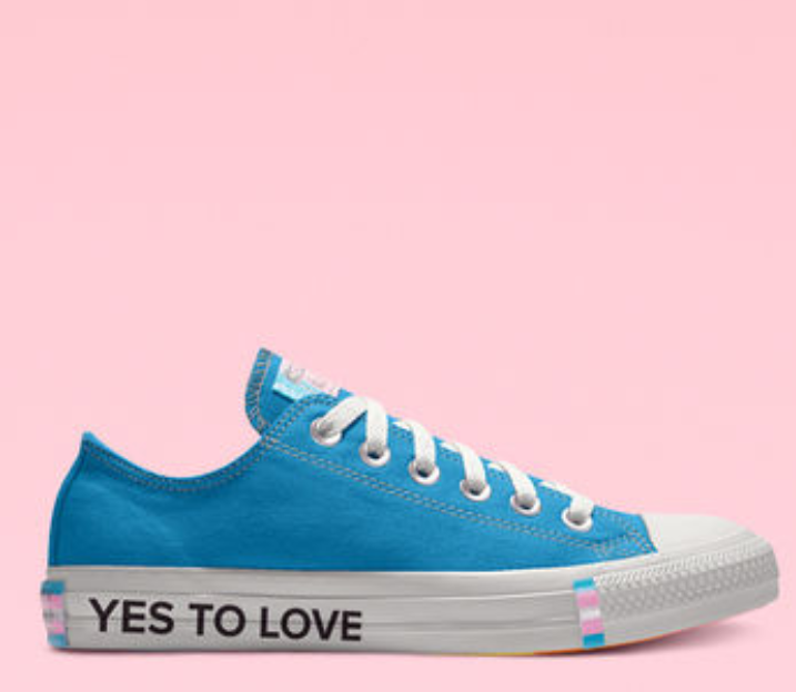 Converse's new 2019 Gay Pride custom sneaker collection