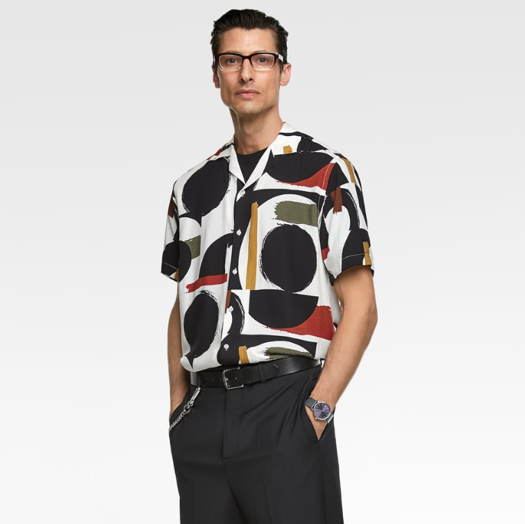 aa53b9a372 Zara introduces ABSTRACT PRINTS for their Men's Spring/Summer 19 collection