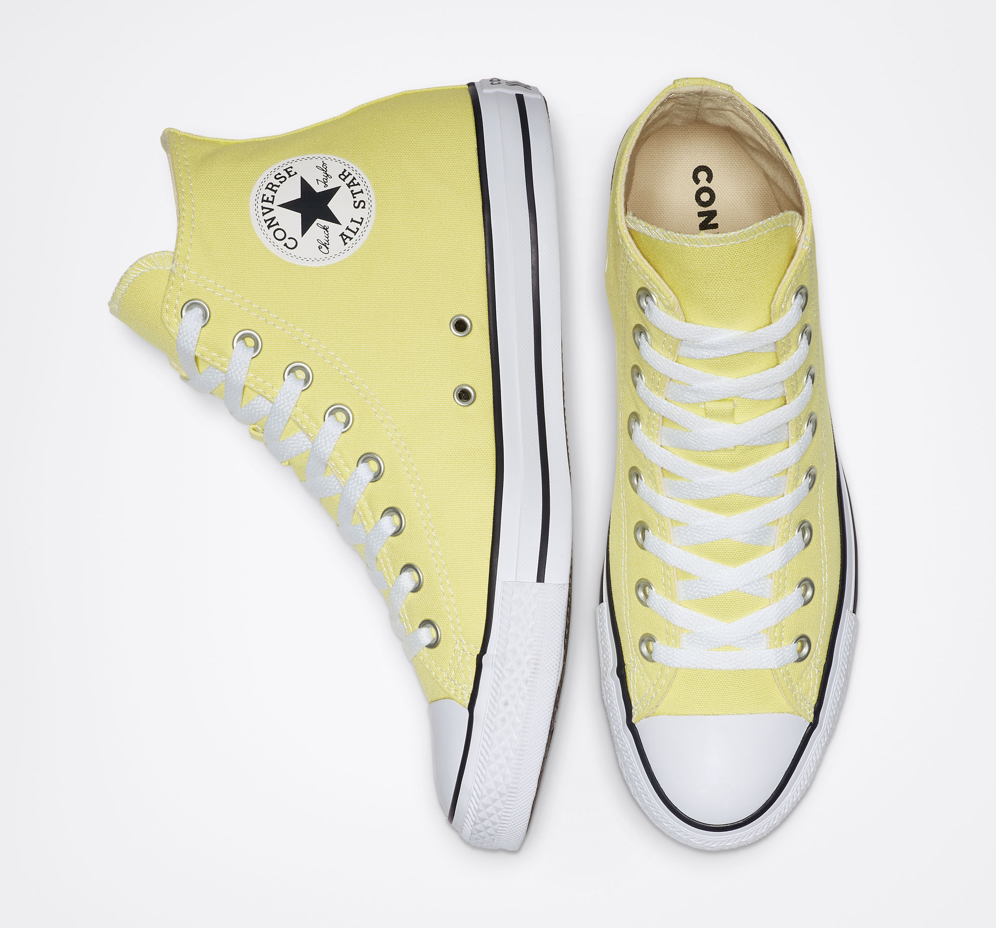 bcb39f1e0 Yellow Converse Shoes: The best Converse sneaker styles in 25 shades of  yellow