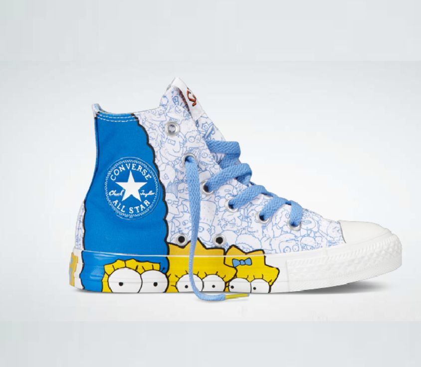 Remember The Simpsons X Converse Shoe Collection From The Mid 2010 S Covering The Intersections Of Race Culture Sexuality And Fashion 48min
